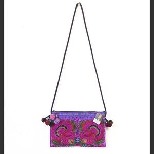 Handbags - Flower Crossbody Bag